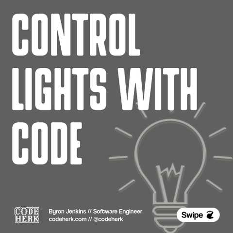 Control Lights With Code