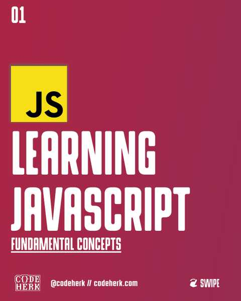 Learning JavaScript: Fundamental Concepts