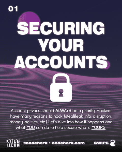 Securing Your Accounts