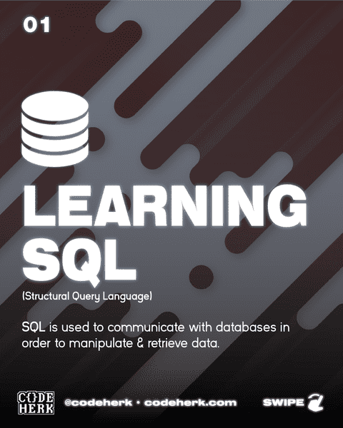 Learning SQL (Structural Query Language)